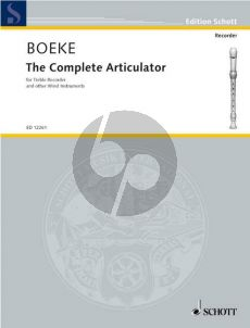Boeke The Complete Articulator for Treble Recorder (or other wind instruments)