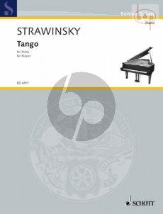 Strawinsky Tango Piano solo (1940)