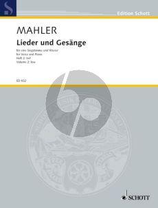 Mahler Lieder & Gesange Vol.2 Tief