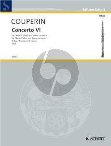 Couperin  Concerto No.6 B-flat major Oboe[Vi.]-Bc (Hugo Ruf)