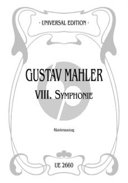 "Mahler Symphony No.8 ""Symphony of a Thousand"" Vocal Score"