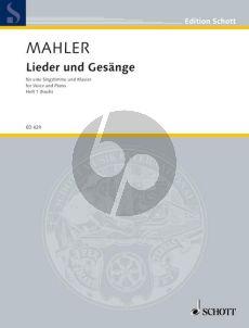 Mahler Lieder & Gesange Vol.1 Hoch