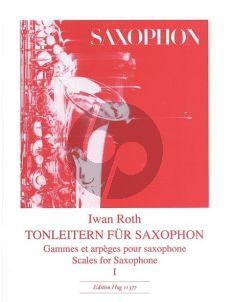 Roth Tonleitern fur Saxophon Vol.1