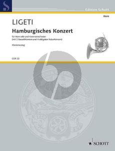 Ligeti  Hamburgisches Konzert (1998/99,2002) (Horn)