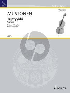 Mustonen Triptych 3 Violoncellos (Score/Parts)