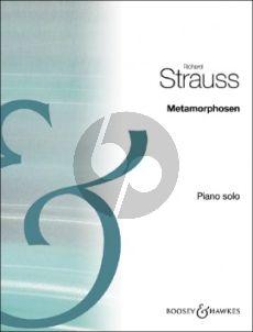 Strauss Metamorphosen Piano solo (transcr. by Gustave Samazeuilh)