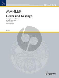 Mahler Lieder & Gesange Vol.2 Hoch