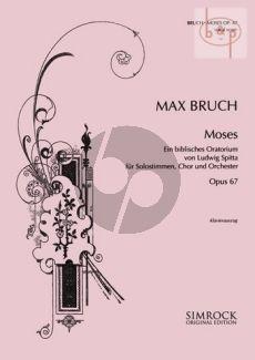 Moses Op.67 (Biblisches Oratorium von Ludwig Spitta) (Soli-Choir-Orch.)