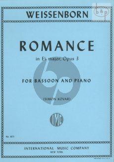 Romance E-flat major Op.3