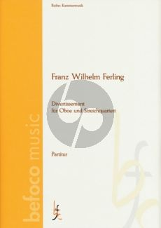 Ferling Divertissement Op.6 Oboe-Stringquartet