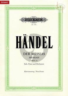 Messias / Messiah (HWV 56) (KA.) (Urtext von Schering/Soldan)