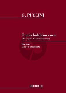 Puccini O Mio Babbino Caro (Soprano) (Gianni Schicchi)