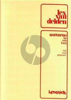Delden Notturno for Harp