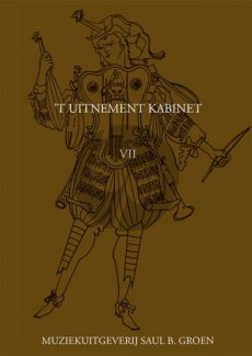 't Uitnement Kabinet Vol.7 (Works for Melody Instr. and Viola da Gamba) (Bc ad lib.) (Score/Parts) (R.Rasch)