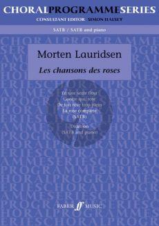 Lauridsen Les Chansons des Roses SATB