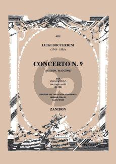 Boccherini Concerto B-flat major No.9 G.482 Violoncello-Orch. (piano red.) (Aldo Pais)