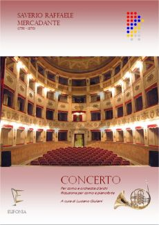 Mercadante Concerto Horn and String Orchestra (piano reduction) (edited by Luciano Giuliani)