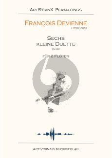 Devienne 6 Kleine Duette Op.82 fur 2 Floten Buch mit Cd (Spielpartitur)