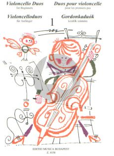 Violoncello Duets for Beginners