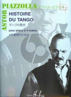 Histoire du Tango Piano 4 mains