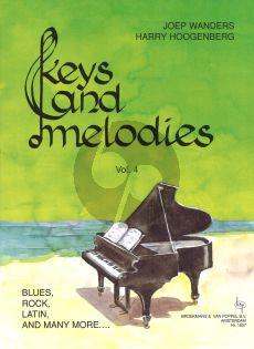 Wanders Hoogenberg Keys & Melodies Vol.4 Grade 4 for Piano Solo