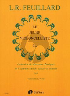 Feuillard Le Jeune Violoncelliste Vol.2A (Collection de Morceaux Classiques)
