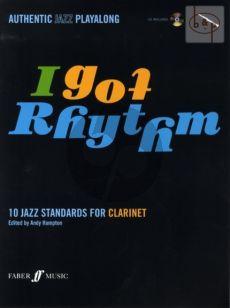 I Got Rhythm (10 Jazz Standards) (Clarinet) (Bk-Cd)