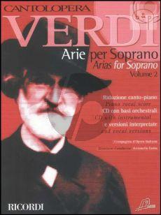 Arias for Soprano Vol.2 (Voice-Piano)