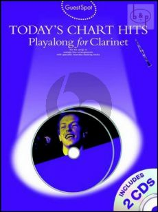 Guest Spot Today's Chart Hits Playalong for Clarinet