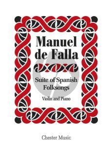 Falla Suite of Spanish Folksongs Violin-Piano
