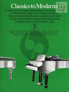 Classics to Moderns Vol.3