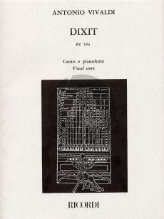 Vivaldi Dixit Dominus (Psalm 109) RV 594 Soli-Choir-Orch. (Malipiero)