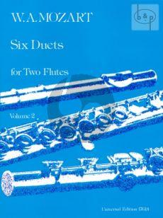 6 Duets Vol.2 2 Flutes