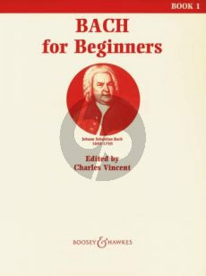 Bach for Beginners Vol.1 (Vincent)