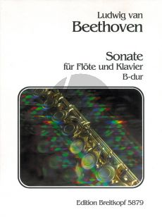 Beethoven Sonate B-dur Flöte und Klavier (Willy Hess)
