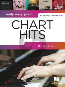 Really Easy Piano: Chart Hits 8 (Spring-Summer 2019)