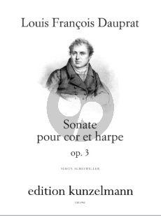 Dauprat Sonata Op.3 Horn in F and Harp (Herausgeber Simon Scheiwiller)