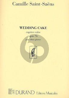 Saint-Saens Wedding Cake op.76 (Caprice-Valse) 2 Pianos