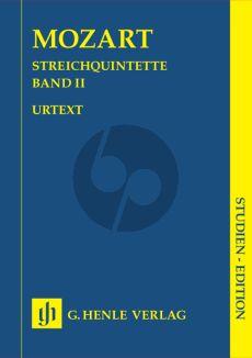 Mozart Quintets Vol.2 (KV 515 - 516 - 406(516b) (Study Score) (Henle-Urtext)