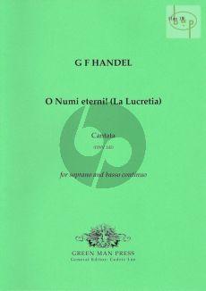 O Numi eterni! (La Lucretia) (Cantata) HWV 145