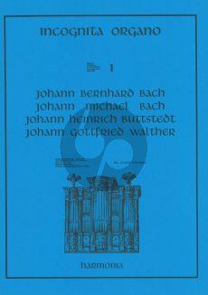Bach J.B.-J.M.Bach en J.G.Walther Album orgel (Incognita Organo 1)