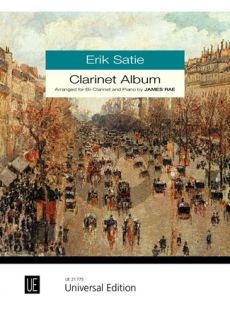 Satie Clarinet Album for Clarinet and Piano (transcr. by James Rae)