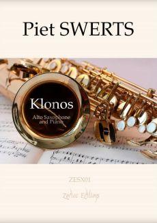 Swerts Klonos Alto Saxophone and Piano (1993)