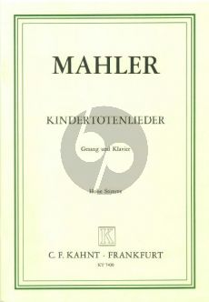 Mahler Kindertoten Lieder (Hohe Stimme) (German/English)