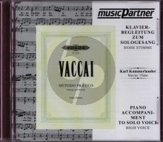 Vaccai Metodo Pratico for Hoch/High Voice (This is the CD only)