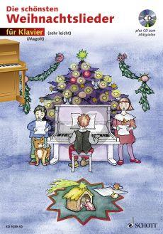 Die Schönsten Weihnachtslieder Klavier (Bk-Cd) (sehr leicht) (Marianne Magolt)