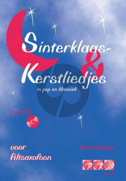 Glaser Sinterklaas en Kerstliedjes in Pop en Klassiek Altsax. (Bk-Cd)