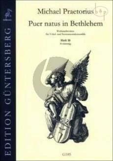 Puer natus in Bethlehem (Christmas Settings for Vocal and Instr.Ens.) Vol.10 (8 Part)