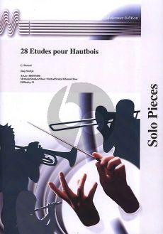 Besozzi 28 Etuden Oboe (Stotijn)