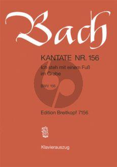 Bach Kantate No.156 BWV 156 - Ich steh mit einem Fuss im Grabe (Deutsch) (KA)